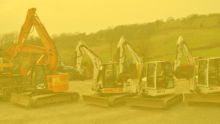 excavator hire feature